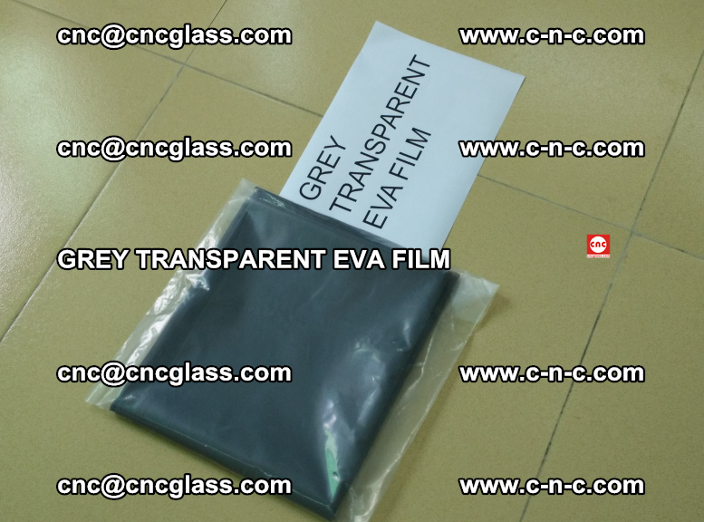 GREY TRANSPARENT EVA FILM for safety decorative laminated glass glazing (9)